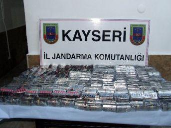 Kayseri'de 14 Bin 500 Adet Cinsel Uyarıcı Hap Ele Geçirildi