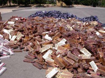Kilis'te 26 Bin Paket Kaçak Sigara Ele Geçirildi