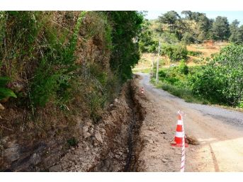 Çatakbağyaka'nın İçme Suyu Hattı Yenilendi