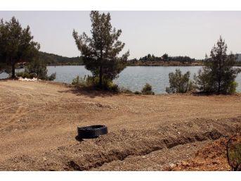 Ula Göleti'nin Çehresi Değişiyor