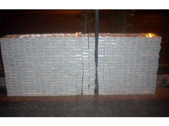 Kamyonda 5 Bin Paket Kaçak Sigara Ele Geçti