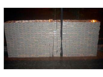 Samsun'da 5 Bin Paket Kaçak Sigara Ele Geçirildi