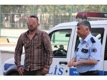 Tüfekle Ev Kurşunlayan Şahıs Tutuklandı