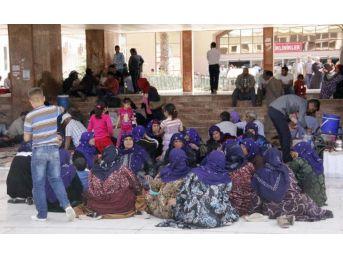 Şanlıurfa'da Hastane Bahçesi Otele Döndü