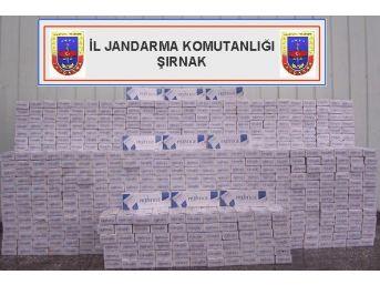 Şırnak'ta 17 Bin 774 Paket Kaçak Sigara Ele Geçirildi