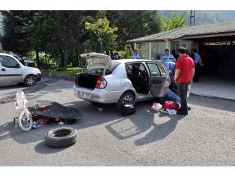 Otomobilde 1.5 Kilo Esrar Bulundu, Sürücü Gözaltına Alındı