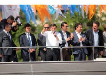 Başbakan Davutoğlu'dan Altındağlılara 'metro' Müjdesi