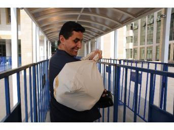 Antalya'da Oy Çuvalları Seçim Kuruluna Getiriliyor