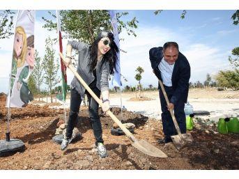 Hande Yener'in Expo'da Dikili Ağacı Oldu