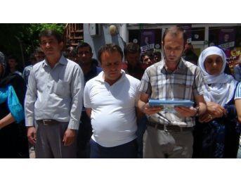 Çukurca'da Diyarbakır Protestosu