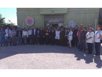 Ereğli'de Sağlıkta Şiddete Protesto