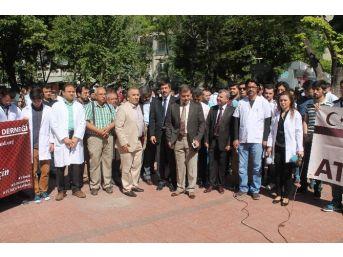 Konya'da Doktor Cinayetine Tepki