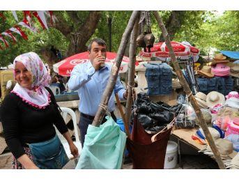 Mut Karacaoğlan Kayısı Kültür Ve Sanat Festivali Sona Erdi