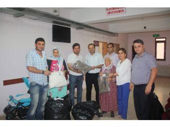 Mut'ta İhtiyaç Sahiplerine Ramazan Yardımı