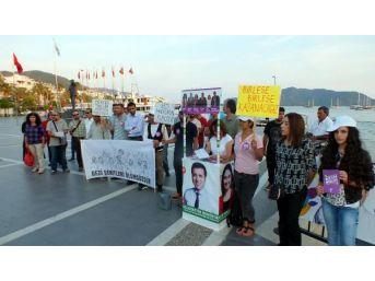 Marmaris'te Hdp Ve Stk'lar Gezi Anması Düzenledi