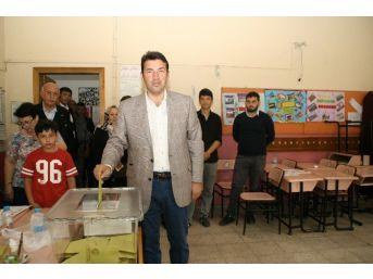 Milletvekili Özcan Ulupınar Devrek'te Kullandı