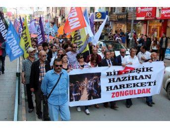 Zonguldak'ta, 'gezi' Yürüyüşü