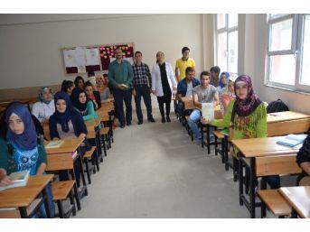 Sason-der'den Sason Anadolu Lisesi Öğrencilerine Kitap Yardımı