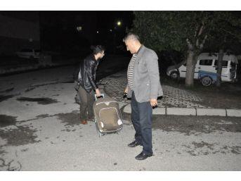 Seydişehir'de Şüpheli Valiz Paniği