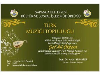 Sapanca'da Türk Müziği Topluluğu Konseri