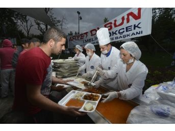 Ankara Büyükşehir'in İftar Çadırları Hazır