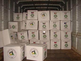 4 Bin Adet Erzak Paketi Hazırlandı