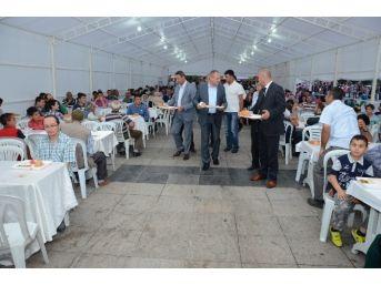 Düzce Belediyesi İftar Çadırı Kurdu