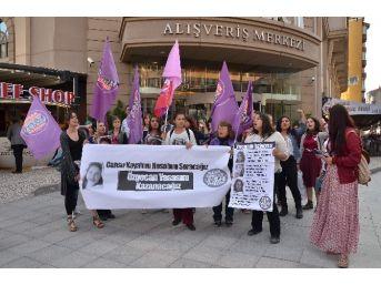 Eskişehir'de Kadın Cinayetleri Protestosu