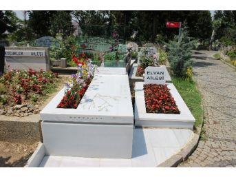 Anne Gülsüm Elvan, Oğlunun Mezarı Başında Gözyaşı Döktü