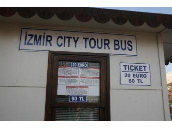 İzmir'de Tur Otobüsleri Turistlerin Gözdesi