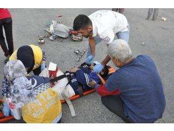 Seydişehir'de Trafik Kazaları: 3 Yaralı