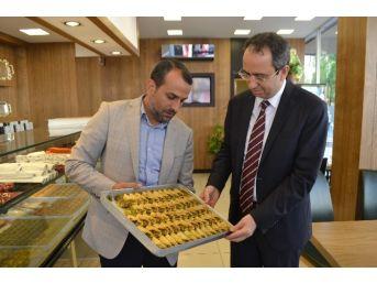 Çerkezköy Kaymakamı Kubilay'dan Yeni İş Yerlerine Hayırlı Olsun Ziyareti