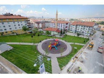 Başkan Tirkayi, Altındağ'a Yeni Parklar Kazandırmaya Devam Ediyor