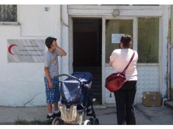 Hırsız Yüzünden Sağlık Ocağını Su Bastı