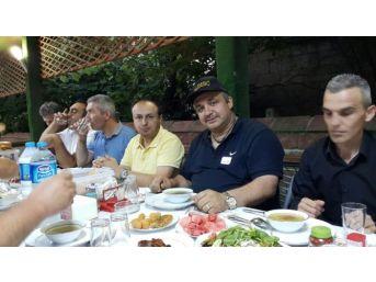 Bartın'daki Amatör Telsizciler İftarda Buluştu