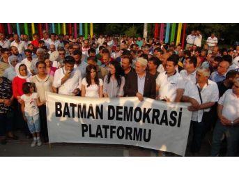 Batman'da Kobani Saldırısına Kınama