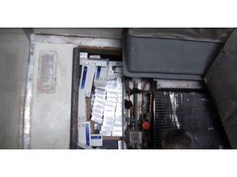 Denizli'de 100 Bin Paket Kaçak Sigara Ele Geçirildi