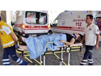 Ahmetli'de Kaza: 5 Yaralı
