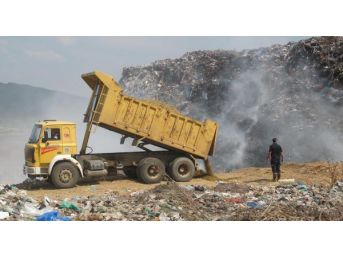 Turgutlu'da Çöp Yangını