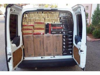 Mardin'de 88 Bin Paket Kaçak Sigara Ele Geçirildi