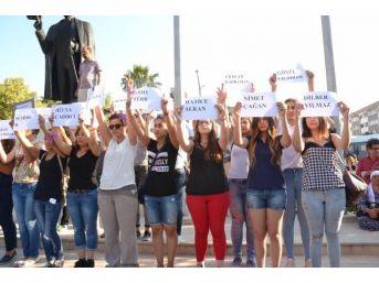 Cansu Kaya Cinayeti Protesto Edildi