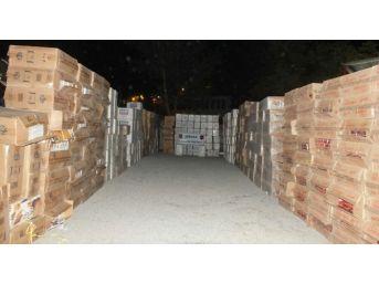 Şırnak'ta Gümrük Kaçağı 211 Bin Paket Sigara Ele Geçirildi