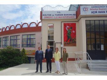 Çerkezköy Halk Kütüphanesi Yeni Yerine Taşınıyor