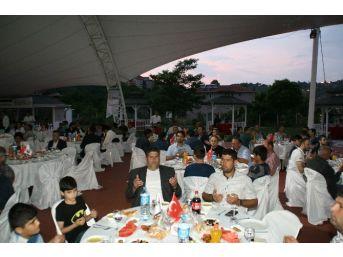 İnşaatçılar Devrek'te Düzenlenen İftar Yemeğinde Bir Araya Geldi