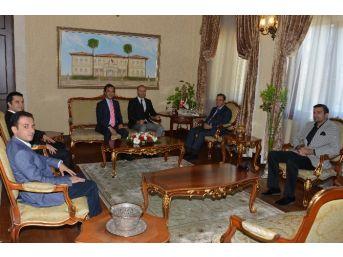 Yörsiad Yöneticilerinden Vali Türker'e Ziyaret