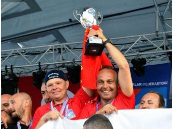 Zıpkınla Balık Avı Türkiye Şampiyonası Sona Erdi