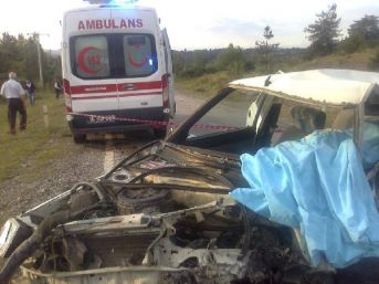 Emekli Polis, Kazada Öldü