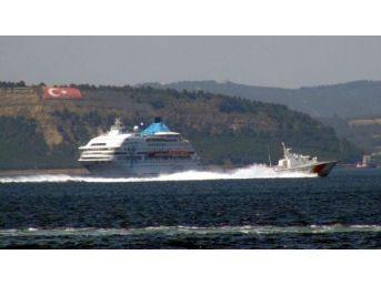 Boğazda Korkutan Kazaya Karışan Yolcu Gemisi Gelibolu'dan Ayrıldı