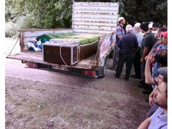 Kazada Yanarak Ölen 3 Kişi Toprağa Verildi