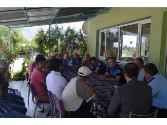 Ulalar Beldesi'nde Huzur Toplantısı Yapıldı